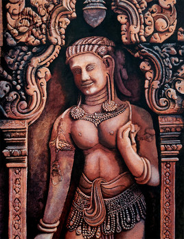 Apsara du Banteay Srei(2)