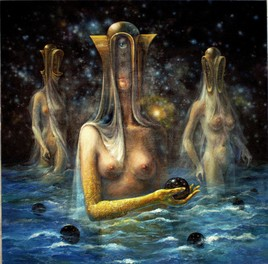 Univers quantiques féminins