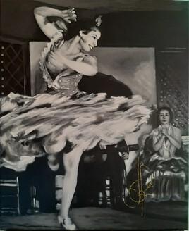 La danseuse de Flamenco (2020.10.19)