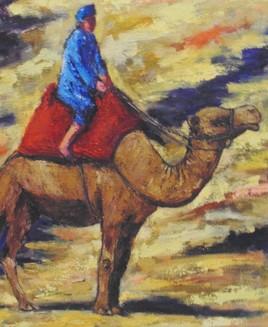 sahara (détail).