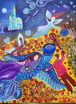 Le rêve de Chagall  (Terminé !)