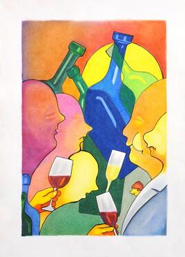 Les couleurs du vin: La dégustation