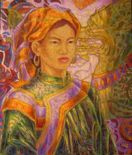 Beauté Hmong au dragon