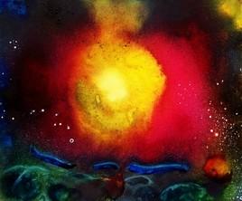 Underwater magma