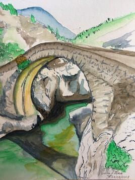 Pont génois près de Calenzana