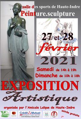 12° Exposition Artistique à Haute INDRE