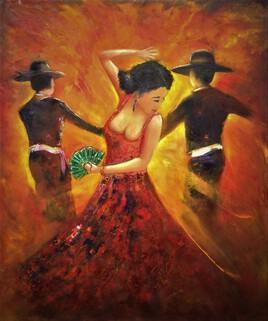 La danseuse de Flamenco !!