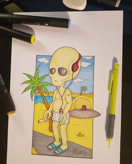 Alien relax