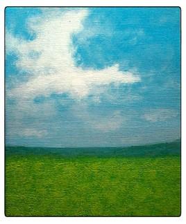 Mon 1er paysage sur toile