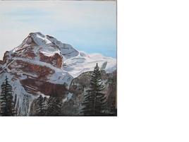 vacances de ski: vue du balcon