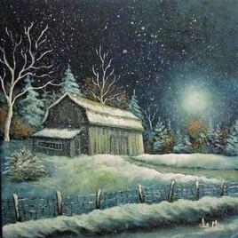 Solitude d'hiver