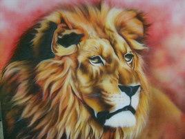 AEROGRAPHIE ( LION )