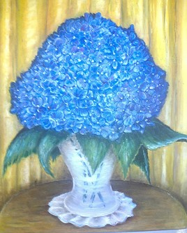 Bleu hortensia