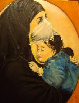 Sur le coeur d'une mère