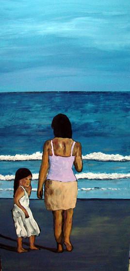 plage enfant