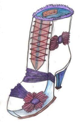 la chaussure hiver de mon imagination