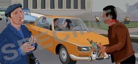 83- 1966 BMW 2000 CS dans Le Cerveau, Film, 1969