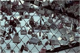 Sur le Pont des Arts ... à Paris