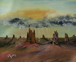 Peinture Un monde imaginaire