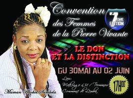 Affiche Convention des femmes de la Pierre Vivante 2012