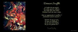 """Poème """"Dernier Souffle"""" Album """"KHAOS"""""""