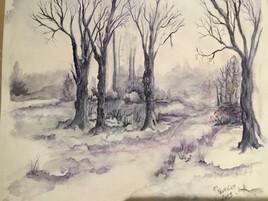 L'hiver pleure