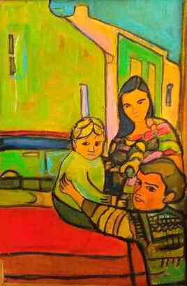 Marie,Oskian et Amelie