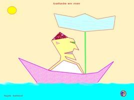 ballade en mer
