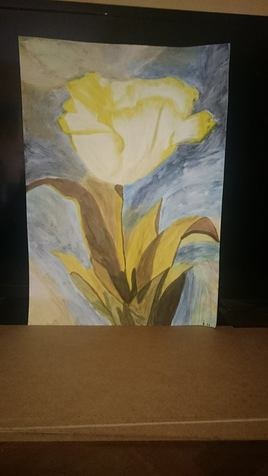 fleur lumière