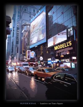 Lumières sur Time Square