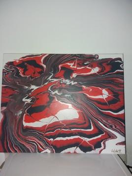 Tableau en acrylique