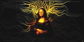 La Joconde numérisé (Neo surrealism)