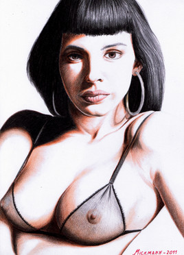 Dessin Mathilda May 2