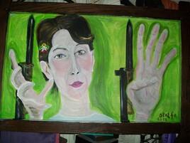 """"""" La fleur au milieu des épines ...  ( Aung San Suu Kyi )"""