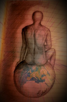 Celui qui est assis au-dessus du cercle de la terre.