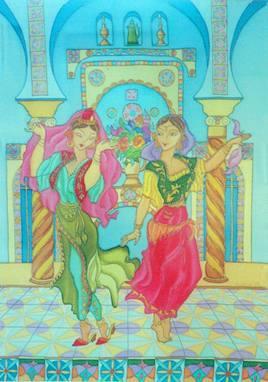 Danseuses d'andalous