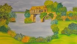Le vieux moulin ( Vernon  )
