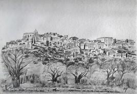 Le berger de Provence, Gordes