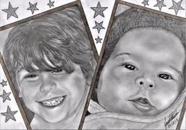 mes 2 petits fils
