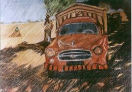 403 Peugeot Bachée Afrique