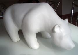 Sculpture L'ours
