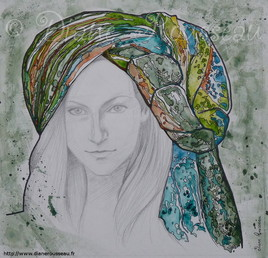 Le turban d'eau vert