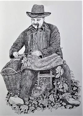 Le cueilleur de Houblon (Saint Jans Cappel)