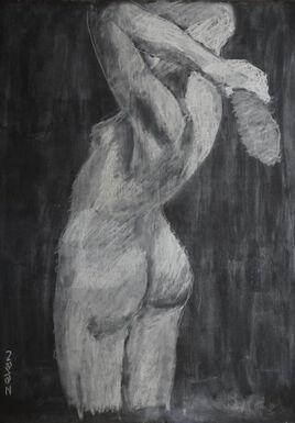 femme nue vue de dos (2017)