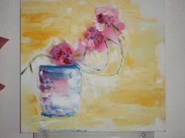 Fleurs en suspens
