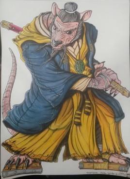 Maître Splinter TMNT 2014