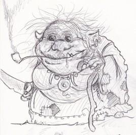 Gnomesse d'après JB Monge
