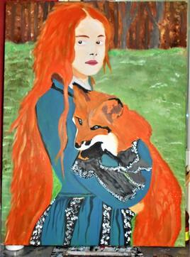 la jeune fille et le renard