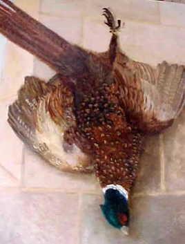 """Claude Lecomte """"le faisan à l'aile brisée"""""""