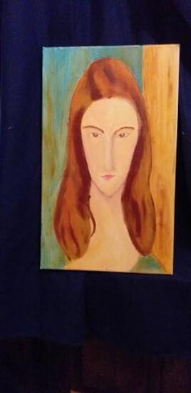 Jeanne Hebuterne  (clin d'oeil à Modigliani)